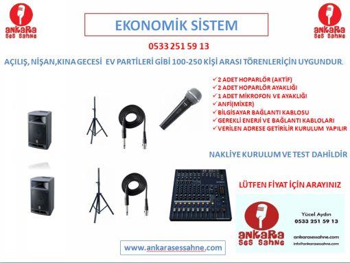 kiralık ses sistemi